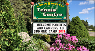 John Hatch Sports Camps - Entrance